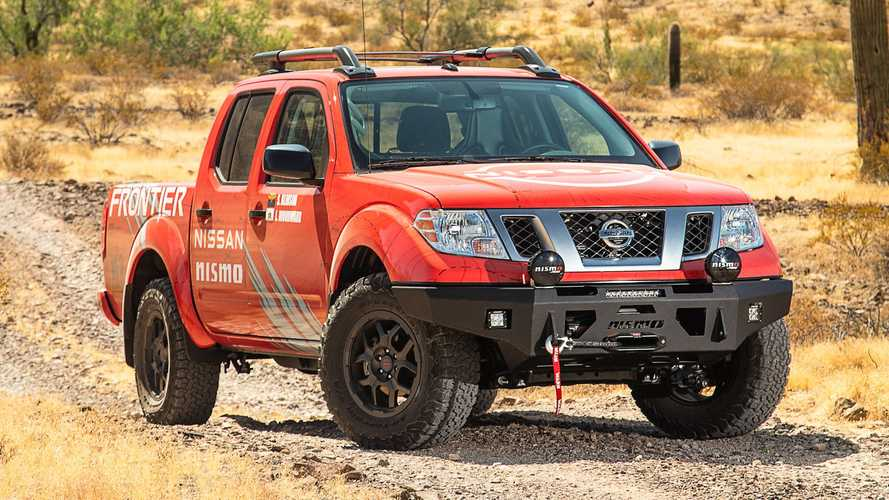 Nissan Frontier, Titan To Get Nismo Off-Road Parts