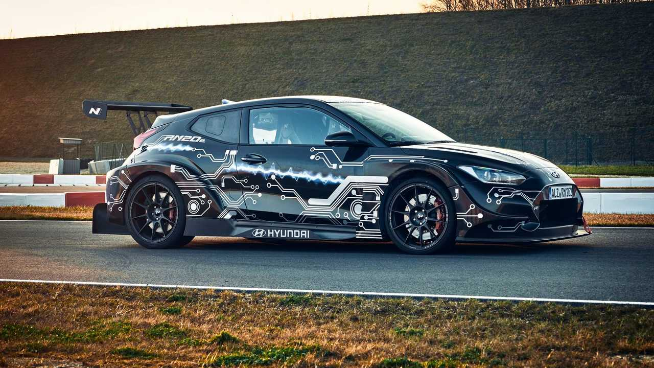 Electrified RM20e Racing Midship Sports Car prototype