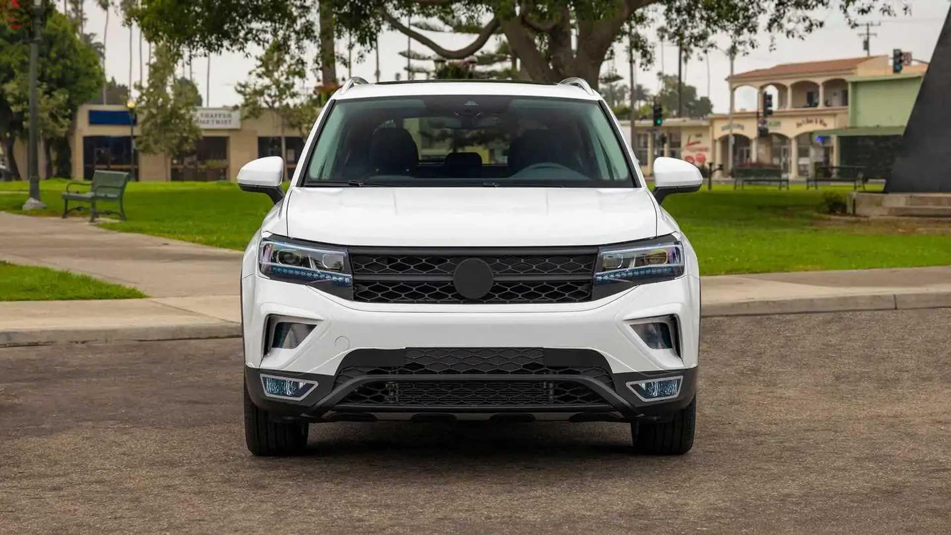 Volkswagen Taos 2022 (Prototype) - Front