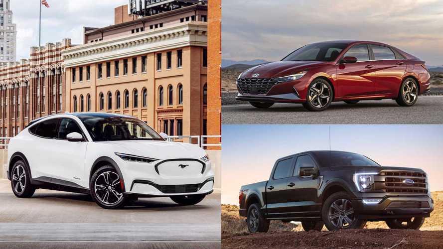 Hyundai Elantra, Ford F-150, Mustang Mach-E Win NACTOY Awards