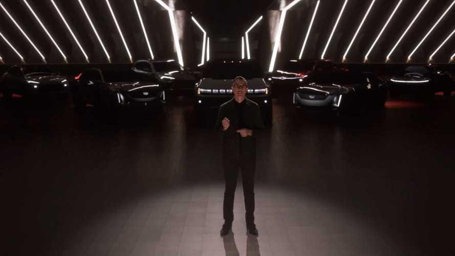 GM mostra sete veículos elétricos inéditos durante apresentação