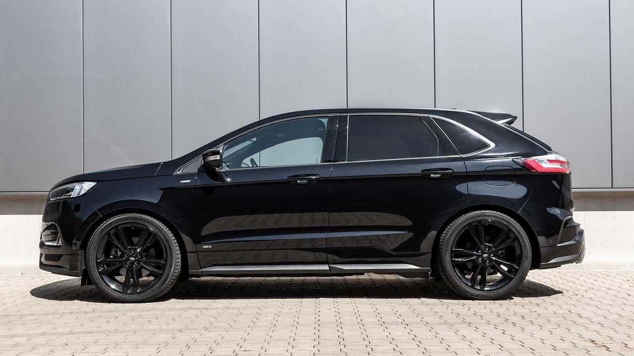 Ford Edge mit Sportfedern von H&R