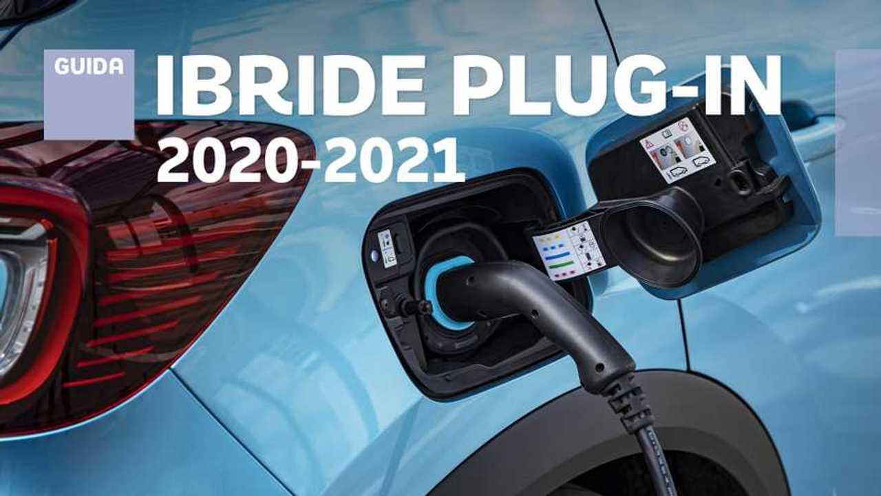 Guida auto ibride plug-in 2020-2021