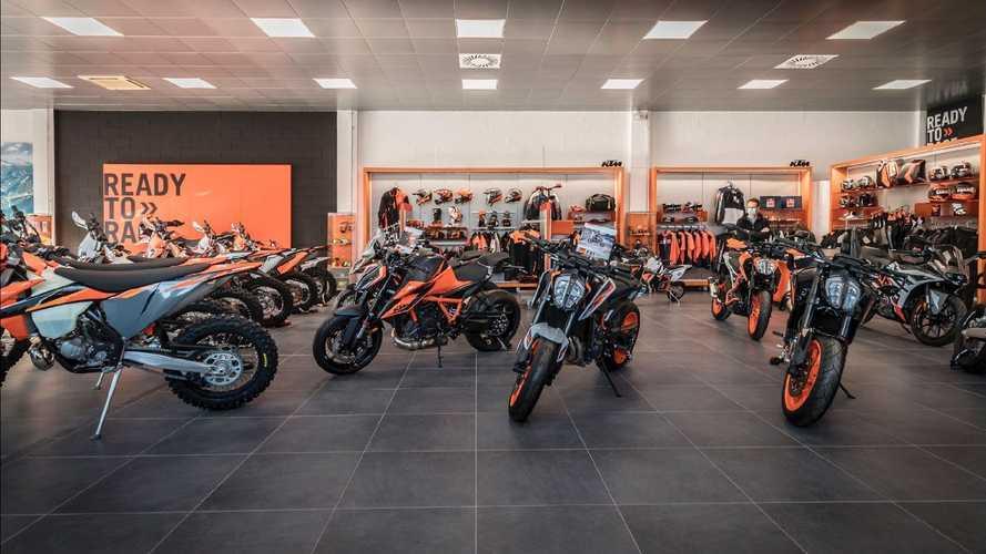 KTM: Giglioli Motori a Rozzano compie 40 anni e si rifa il look