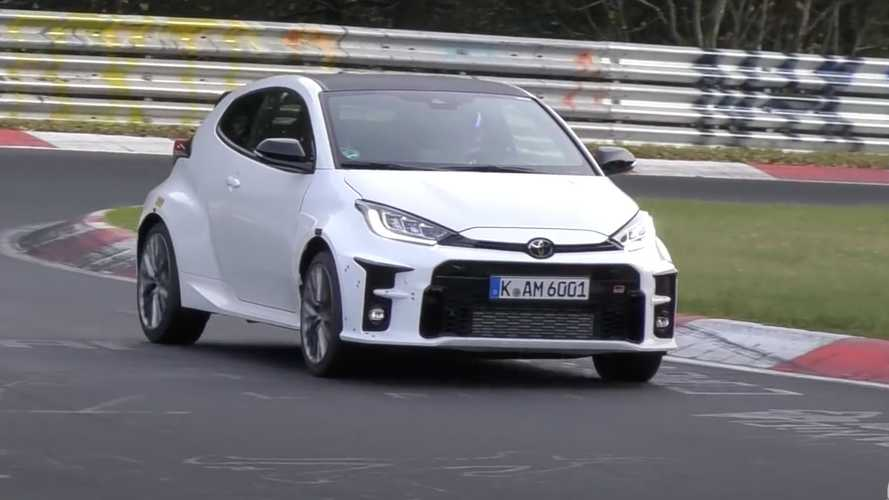 See The Yet-To-Be-Confirmed Toyota GRMN Yaris In Action At The Nurburgring
