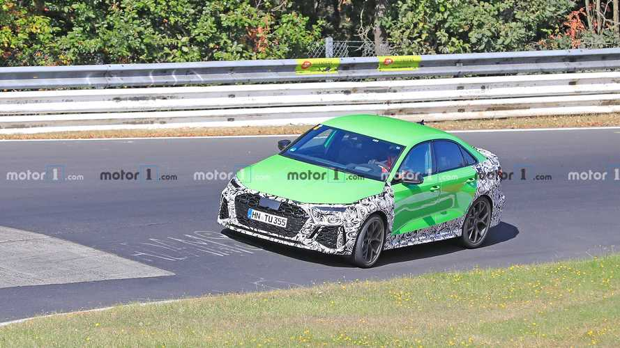 2021 Audi RS3 Saloon Spy Photos