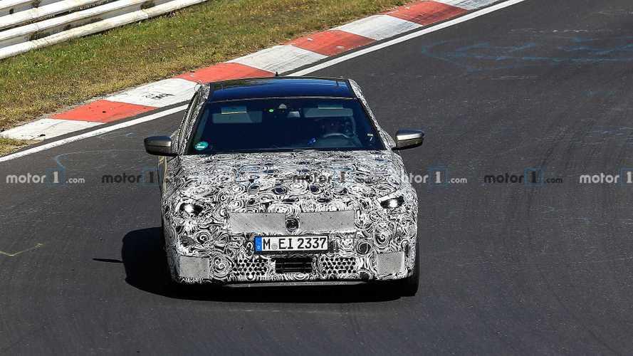 New BMW 2 Series Coupe spy photos