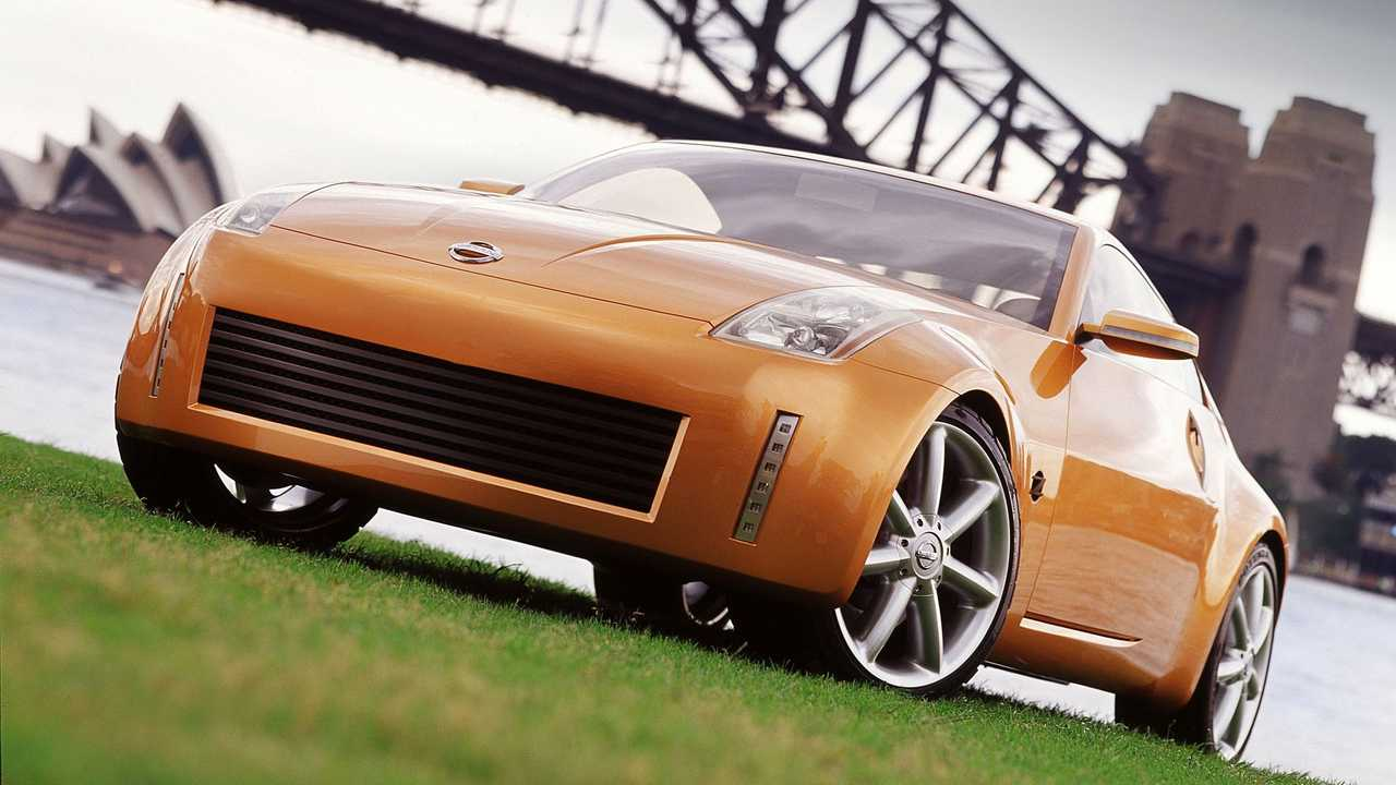 Nissan Z Concept, l'anteprima della 350Z