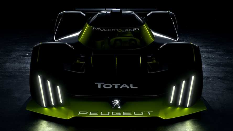 Peugeot Le Mans hypercar teased, signalling high-performance road car
