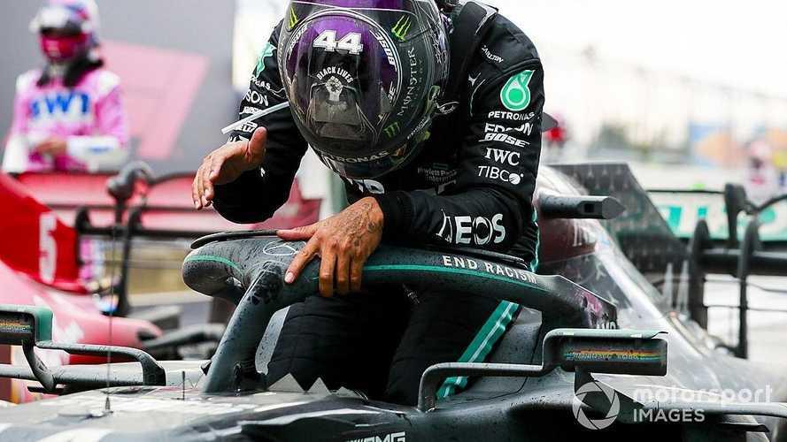 Course - Magic Hamilton rejoint Schumacher dans la légende