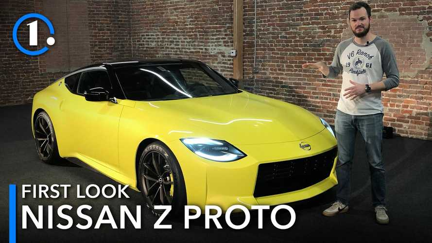 Video: We get an up-close first look at the Nissan Z Proto sports car
