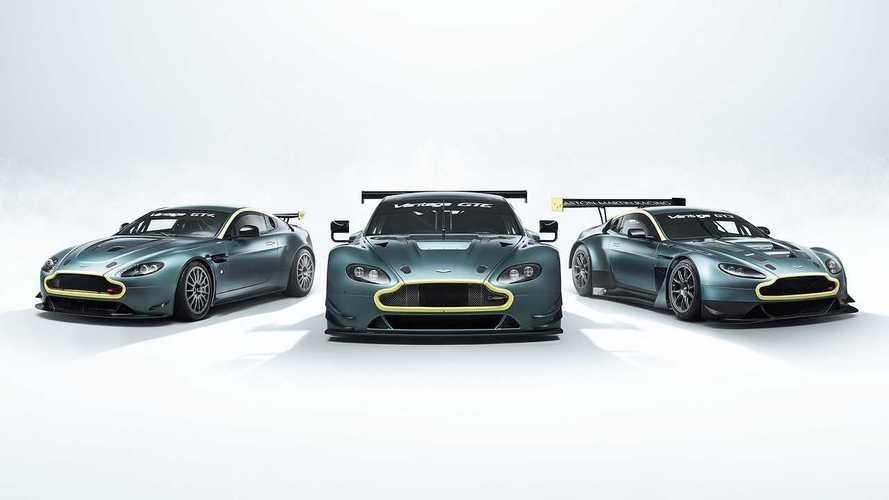 In vendita uno strabiliante trio di Aston Martin da corsa