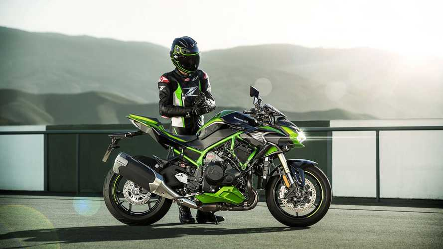 New 2021 Kawasaki Z H2 SE Adds Skyhook Suspension Upgrade
