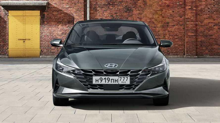 Новая Hyundai Elantra для России (2020)