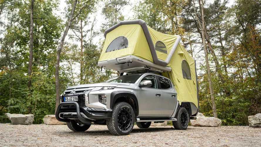 Con este Mitsubishi L200 podrás acampar donde te plazca