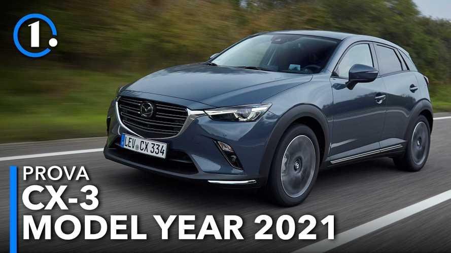 """Mazda CX-3, la prova del """"miglioramento invisibile"""""""