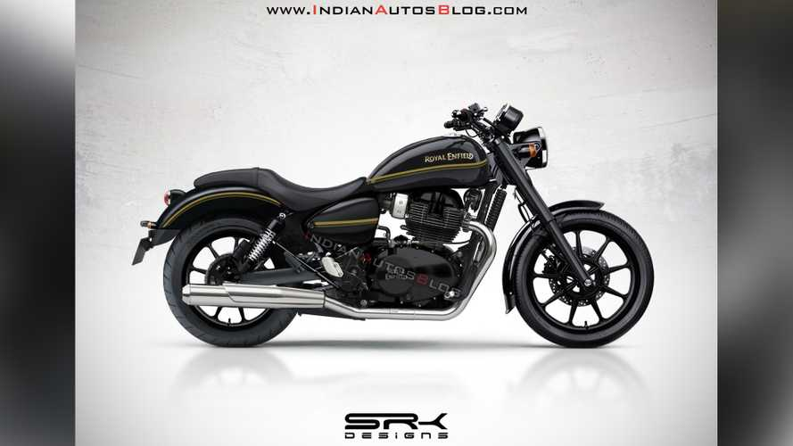 Royal Enfield Cruiser Render Gives Us A Peek At New Model