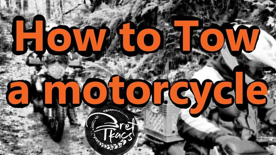 How To Flat-Tow A Motorcycle Off The Trail