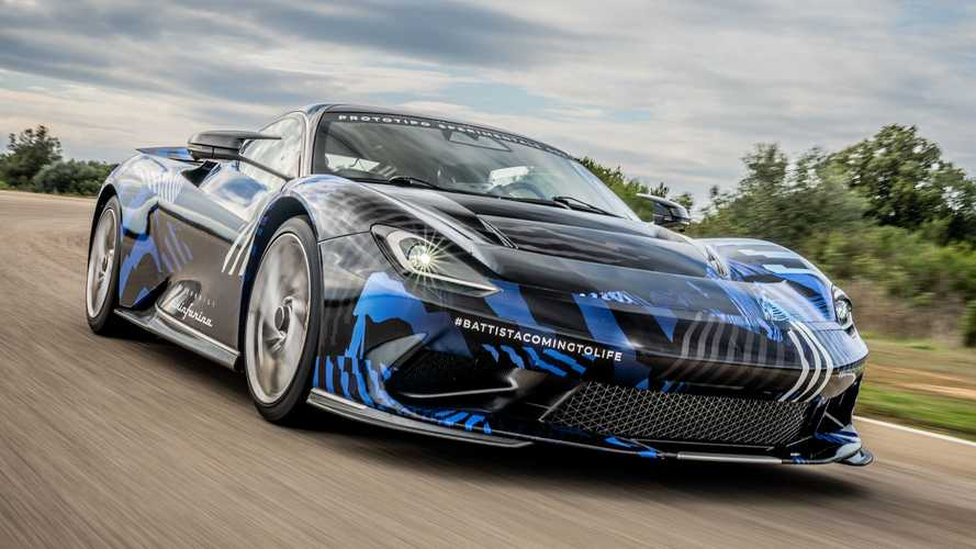 Pininfarina Battista Electric Hypercar Completes High-Speed Testing
