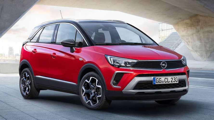 До России добрался первый Opel в новом стиле