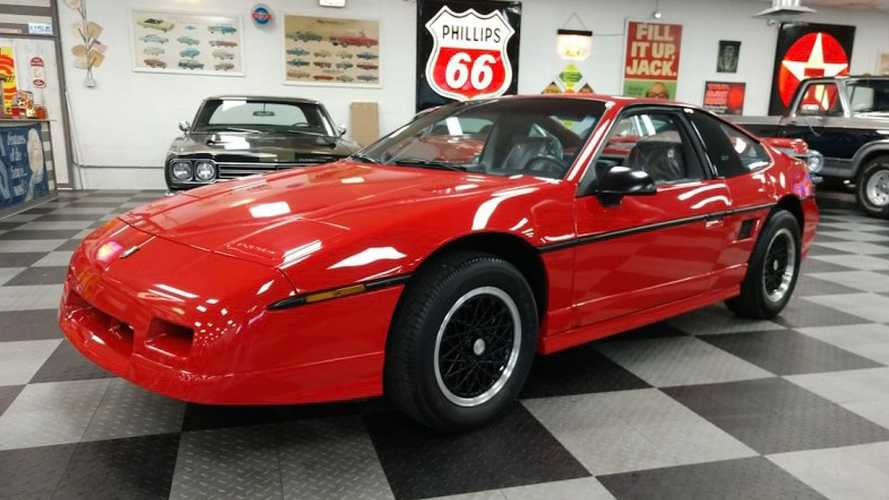 Final Pontiac Fiero Could Be Yours, With Super-Low Mileage