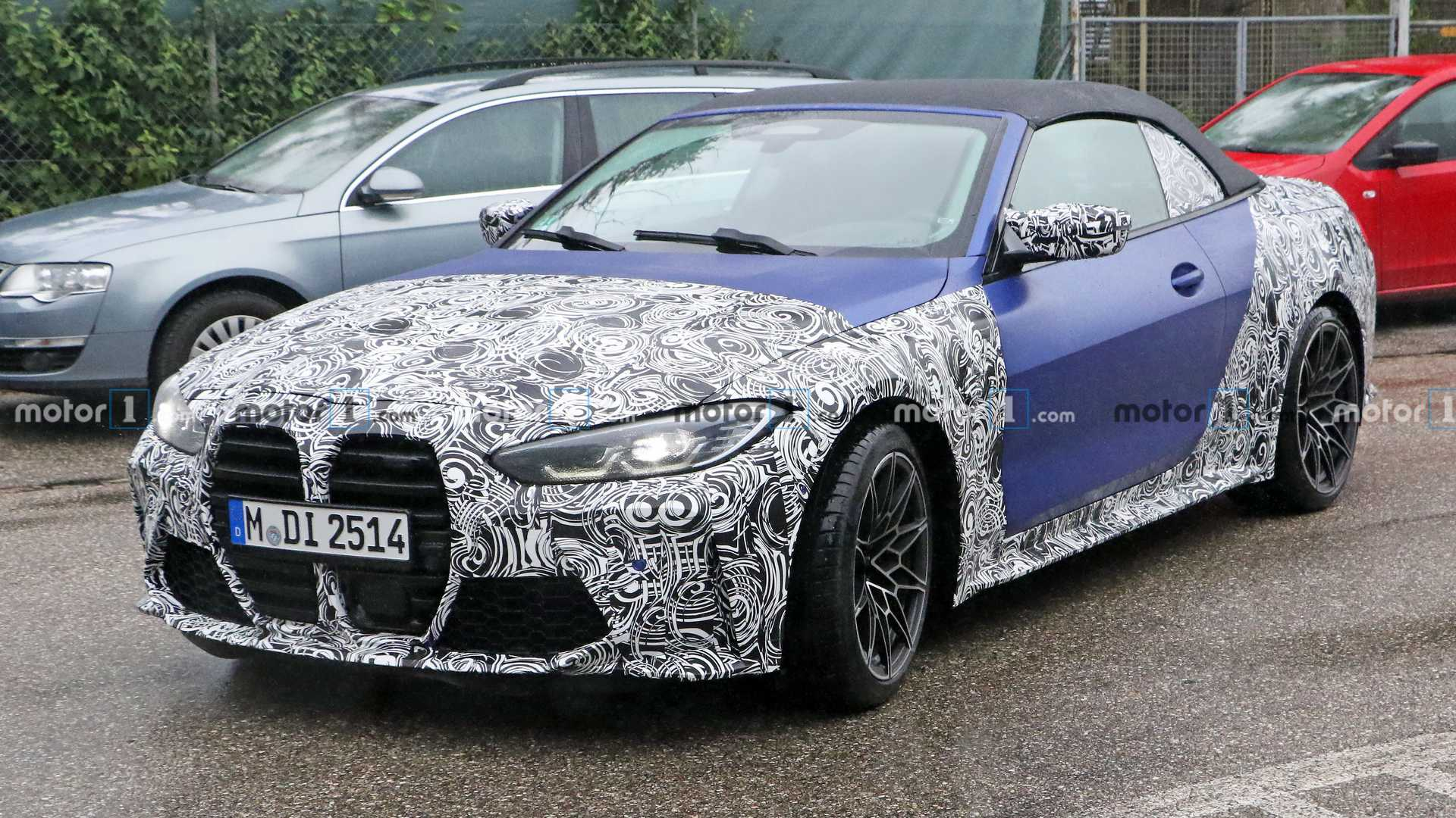 3 BMW M3 Convertible Spied With Predictably Controversial Design