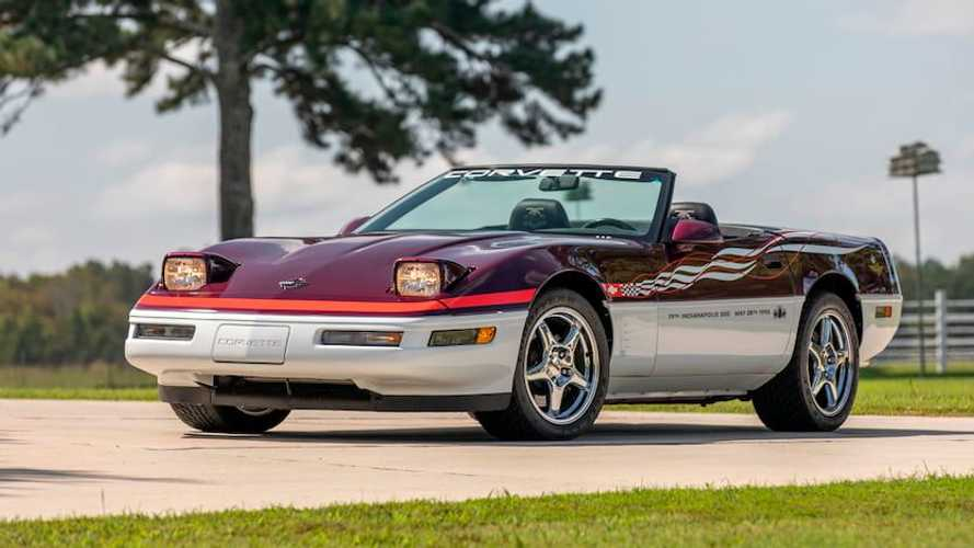Rare, Low-Mileage Chevy Corvette Pace Car Edition Heads To Auction