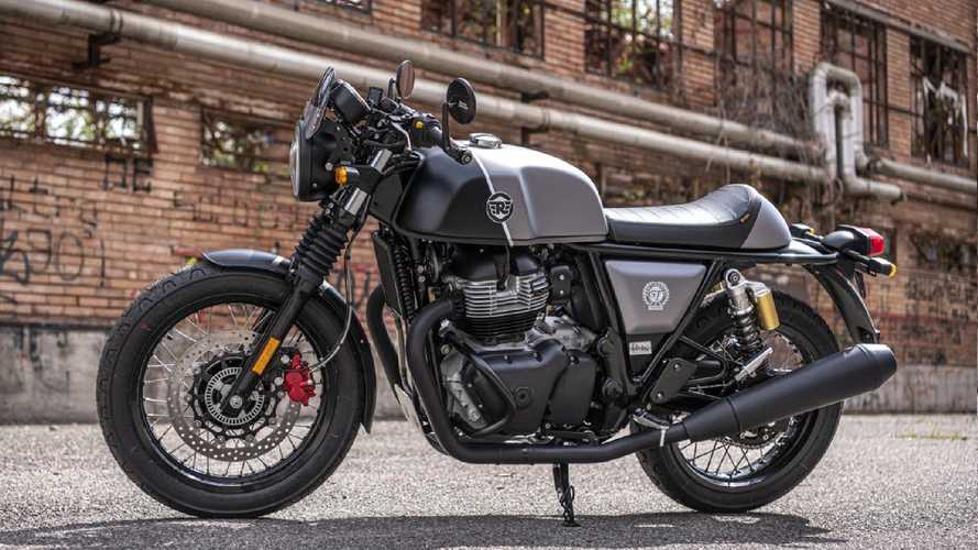 Royal Enfield Continental GT 650 Valentino Motor Limited Edition