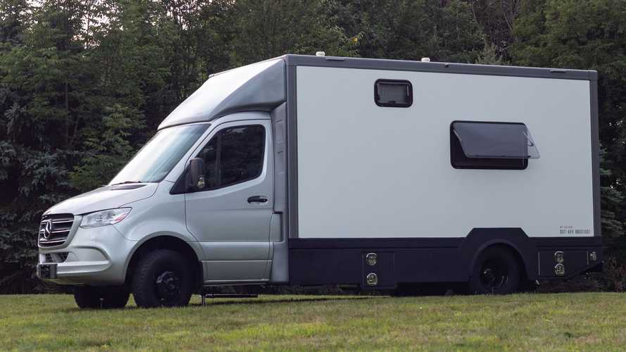 This Ordinary-Looking Mercedes Sprinter Camper Is Extraordinary Inside