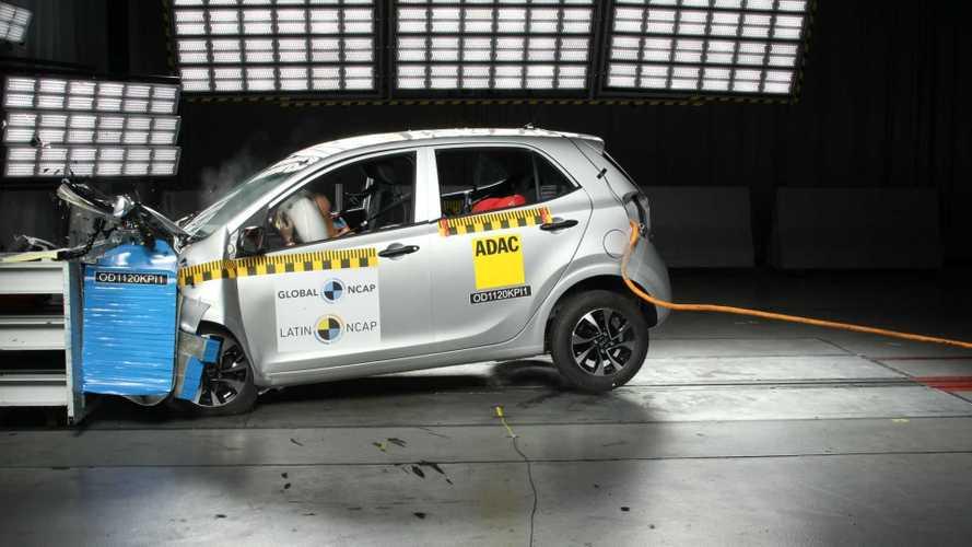 Latin NCAP: Kia Picanto repete nota zero em estreia do novo protocolo
