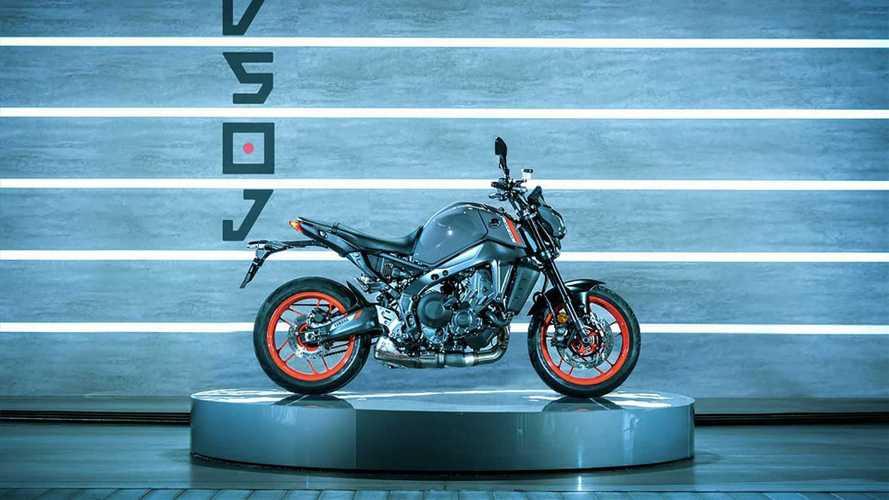 Yenilenen 2021 Yamaha MT-09 tanıtıldı!