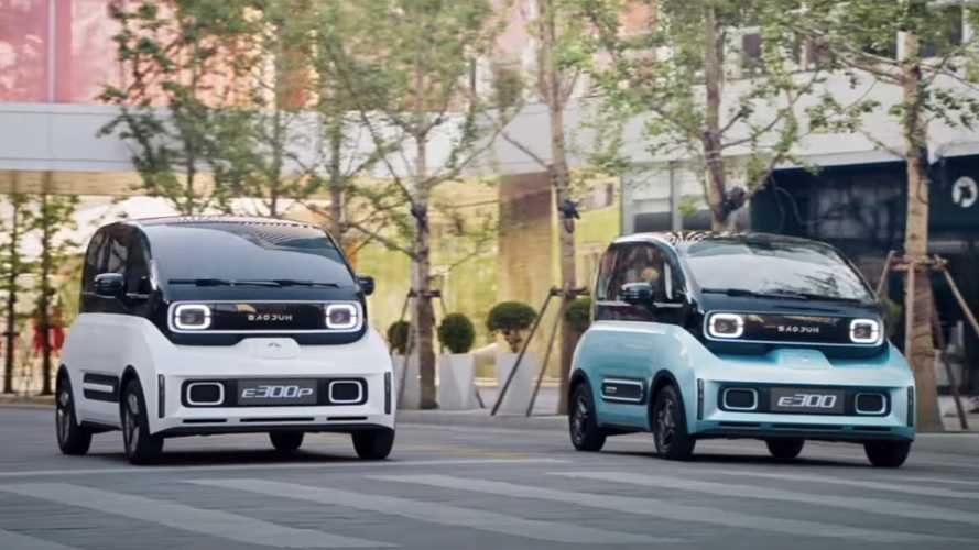 Fully Charged checks out the Baojun E300 plus - video