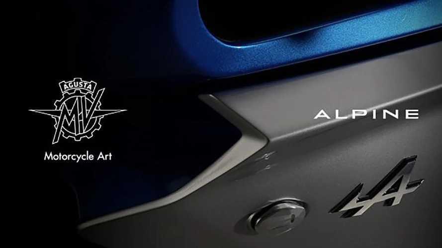 Alpine et MV Agusta préparent une moto !