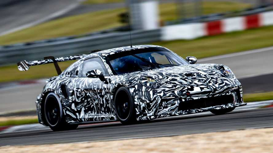 Porsche 911 GT3 Cup (992) Prototyp