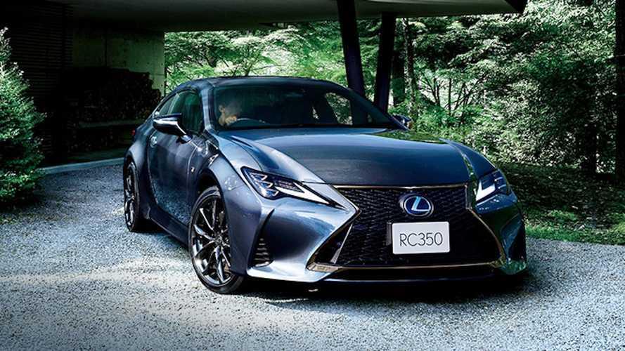 Lexus RC Gets An Elegant Yet Dark 'Emotional Ash' Edition In Japan