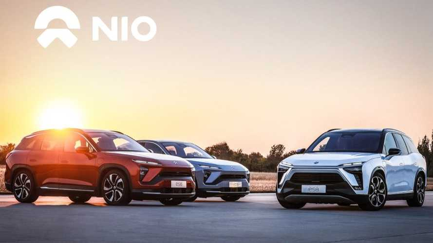 NIO EV Sales Near Record High In April 2021