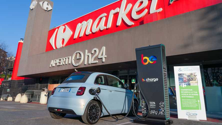 FCA Shop & Charge - Carrefour