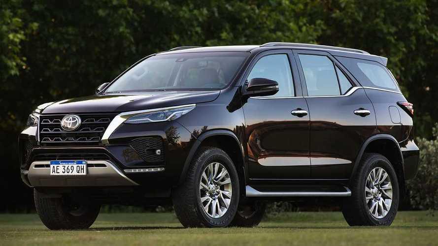 Toyota SW4 2021 sofre reajuste de preço e fica até R$ 11.300 mais caro