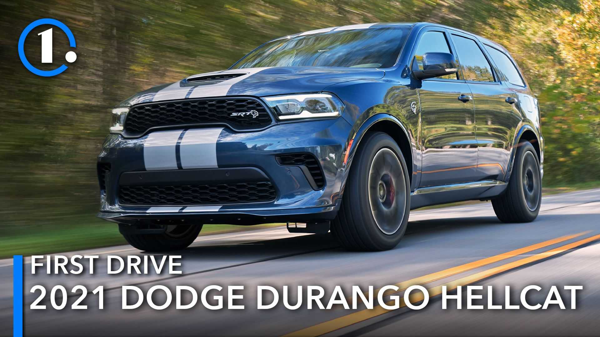 2021 Dodge Durango Hellcat First Drive Review: They Actually Did It