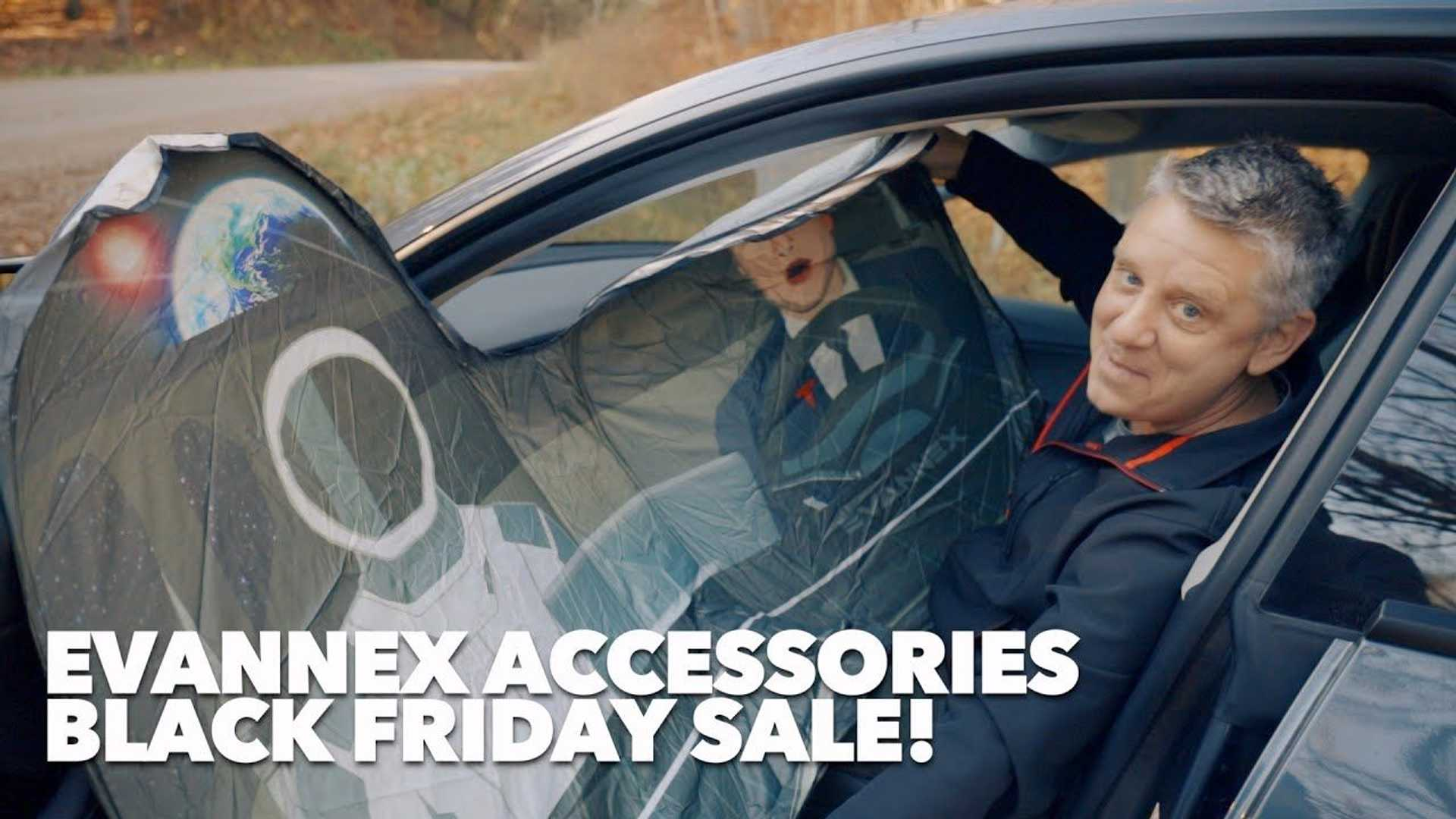 Don't Miss Out On These EVANNEX Black Friday Tesla Accessory Deals