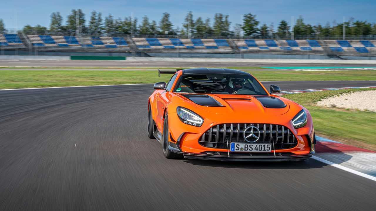 Mercedes-AMG GT Black Series 2020, prueba