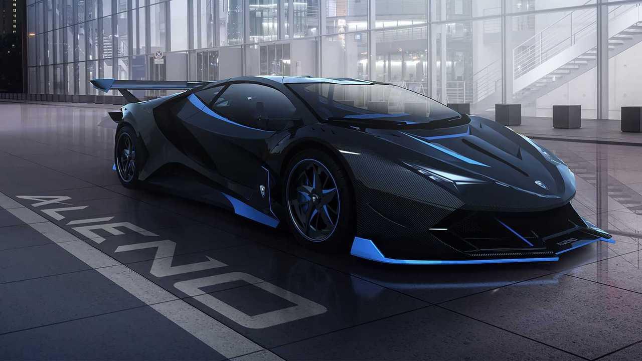 Alieno Arcanum: Ein elektrisch angetriebener Supersportler mit über 5.000 PS