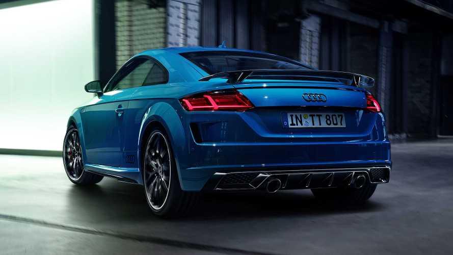 L'Audi TT mette l'abito sportivo col pacchetto S line competition plus
