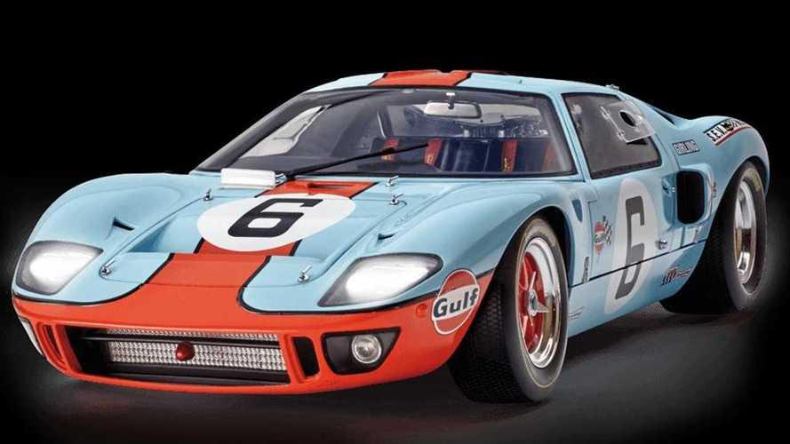 Fabrica tu propio Ford GT40, todo un ganador de Le Mans