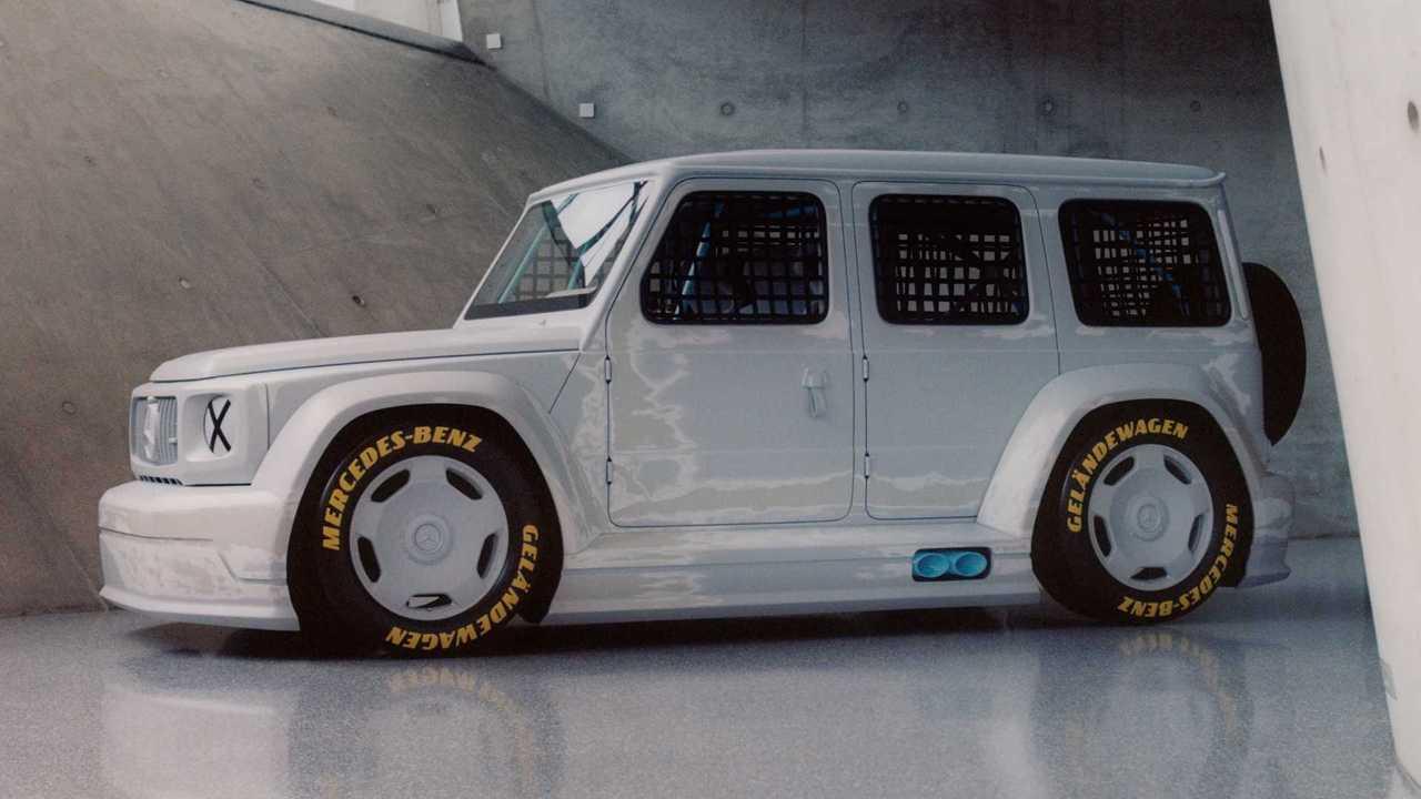 Mercedes-Benz Clase G, Project Gelandewagen