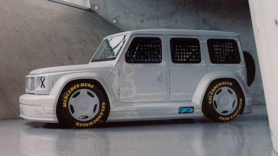 Este Mercedes-Benz Clase G de carreras, a subasta con fines benéficos