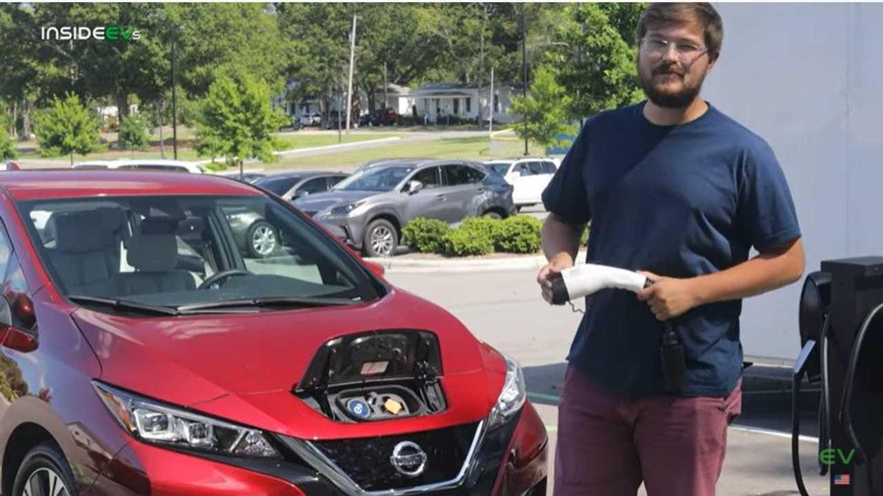 Nissan LEAF range test