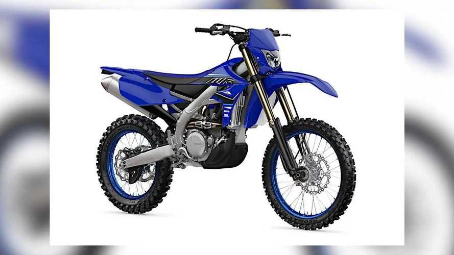 2021 Yamaha WR450F and WR250F