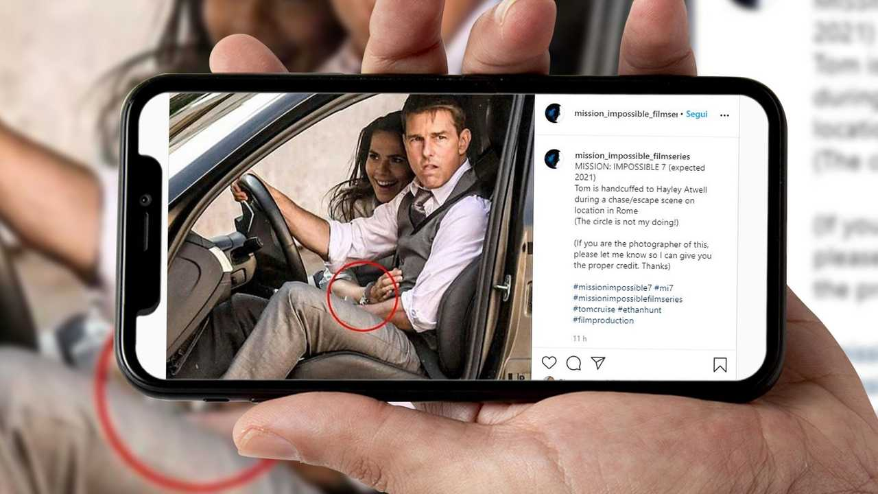 Tom Cruise Hayley Atwell Mission Impossible 7