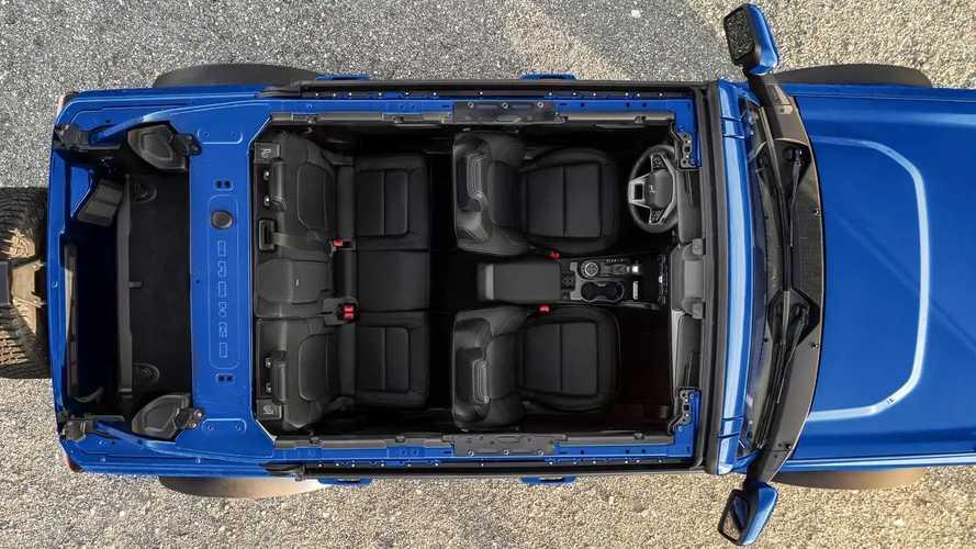 Ford Bronco First Edition с интерьером Onyx